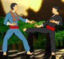 Hry on-line:  > Pencak silat (bojové free flash hra on-line)
