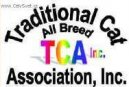 :  > TCA (The Traditional Cat Association, Inc.)