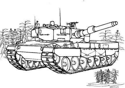 Všechny Omalovánky (833) : Technika: Tanky, vozidla (29 omalovánek)
